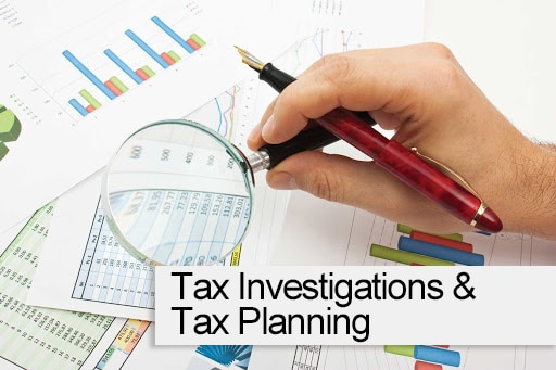 Tax investigations and planning