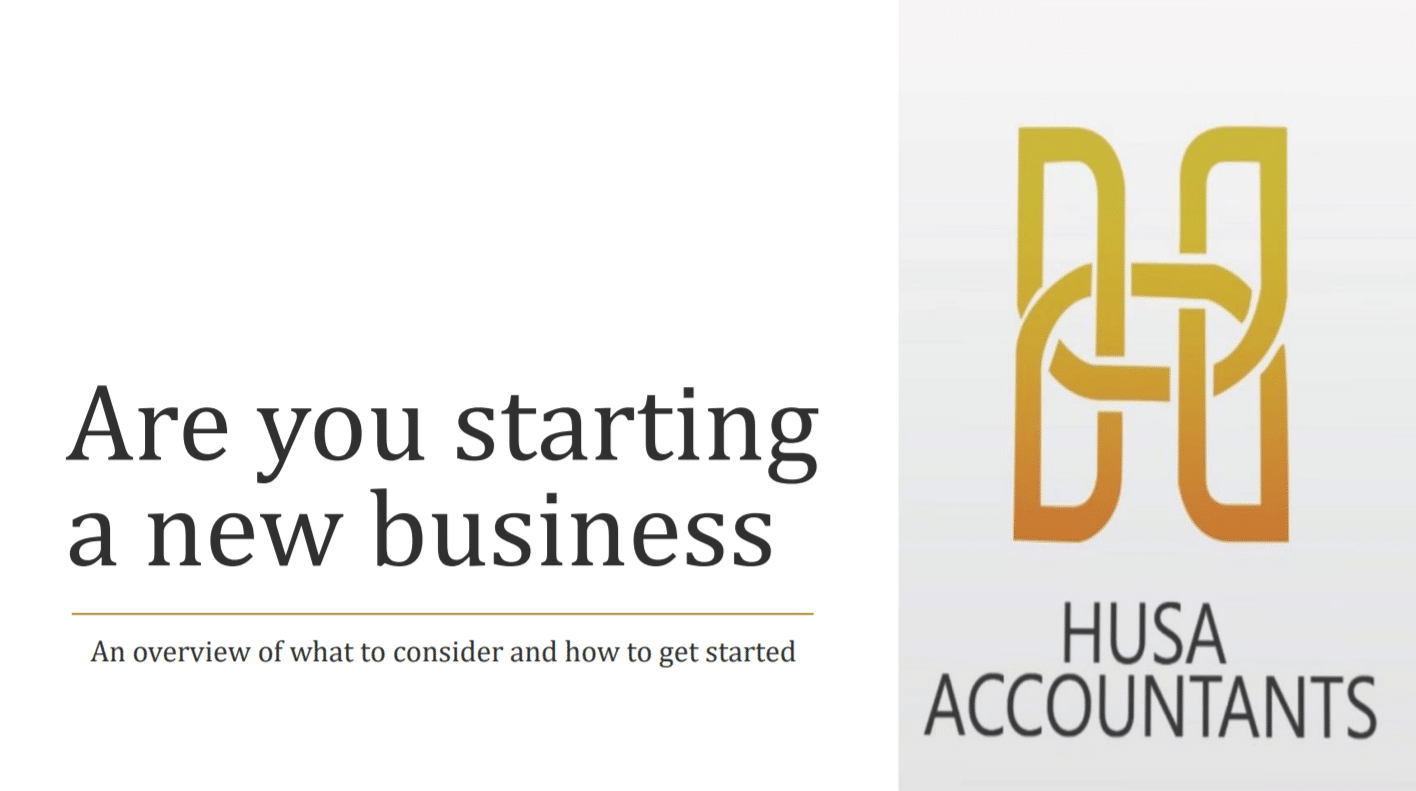 Starting a new business guide