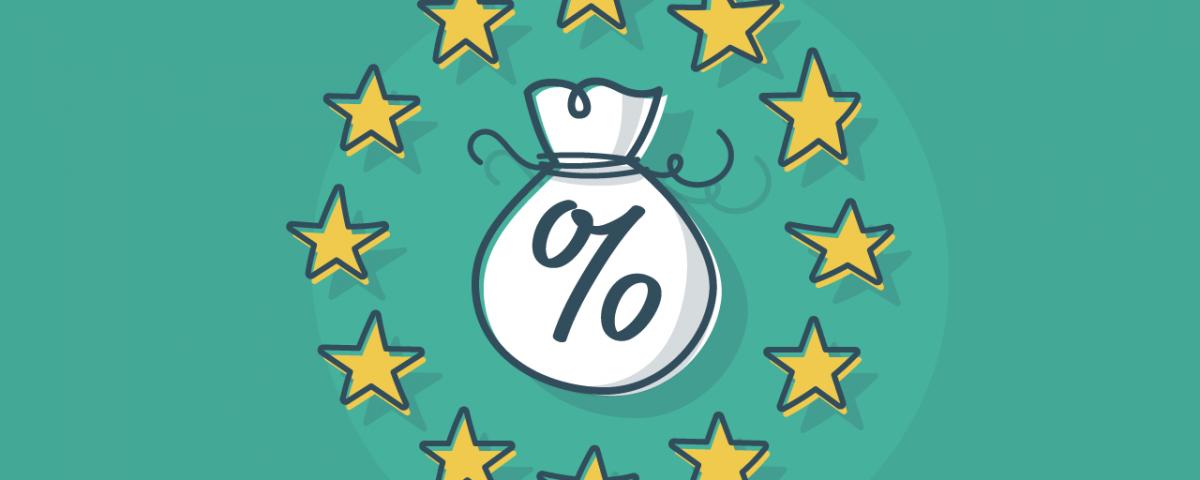 EU VAT Money bag